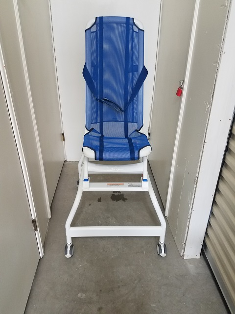 Blue Wave Bath Chair With Shower Base